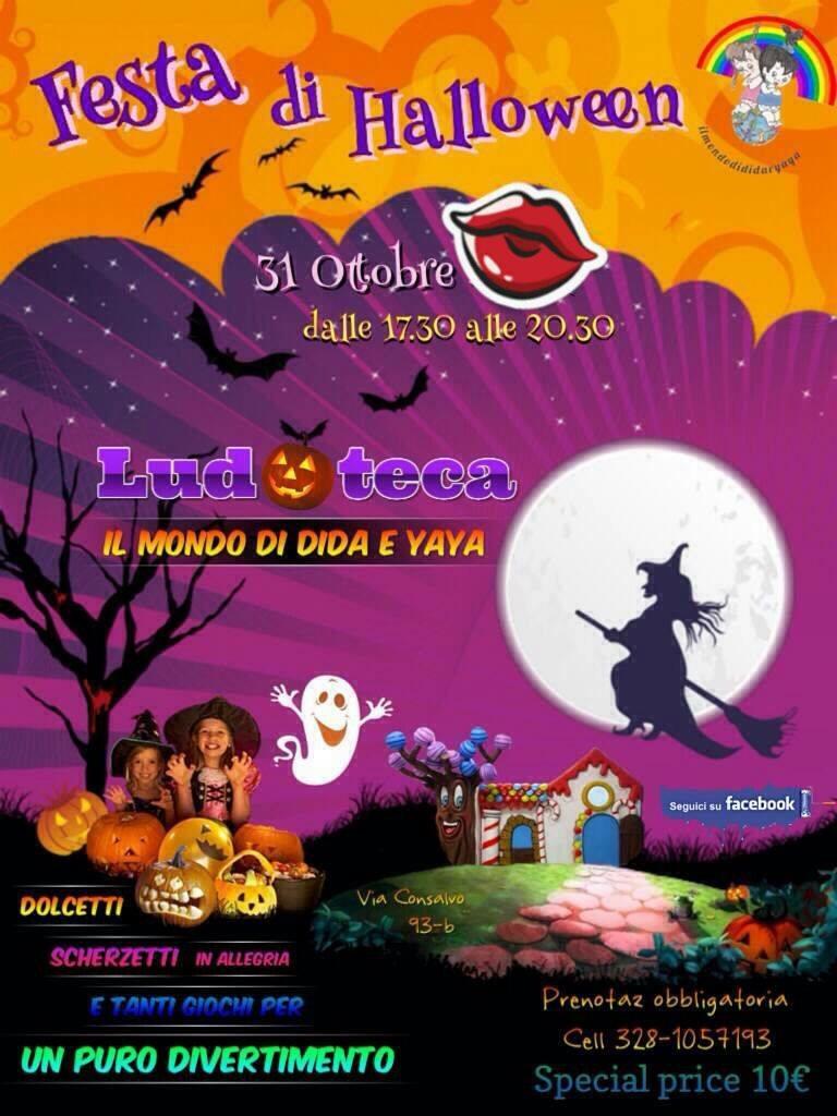 Eccezionale feste per bambini halloween napoli | MAMME SUPER KQ37